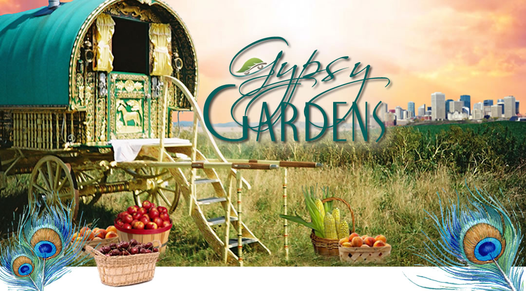 Gypsy Gardens - Edmonton Fruit Vendor Logo